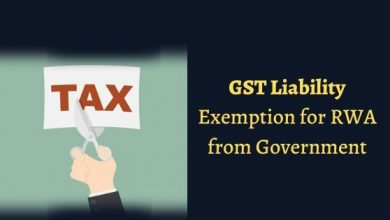 Photo of GST liability is exempted for RWA from Government