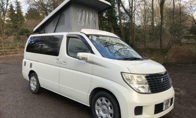 Nissan Elgrand camper