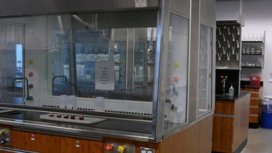 Photo of Different types of fume hoods that are used in labs