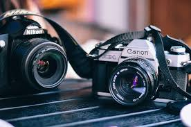 Photo of DSLR Camera With Flip Out Screen