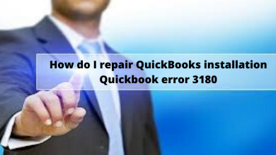 Photo of How do I repair QuickBooks installation Quickbook error 3180