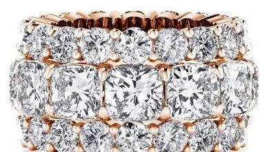 Photo of Rose gold wedding rings