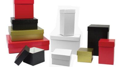 Photo of Rigid Paper Box With Velcro Closure