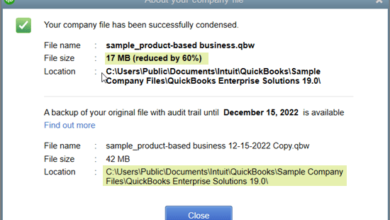 Photo of When your QuickBooks file has become overlarge