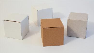 Photo of Keeping Treasured Memories in Cardboard Cube Boxes!