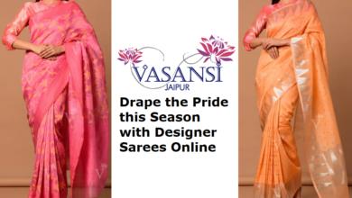 Photo of Drape the Pride this Season with Designer Sarees Online