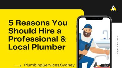 Photo of 5 Reasons You Should Hire a Professional & Local Plumber