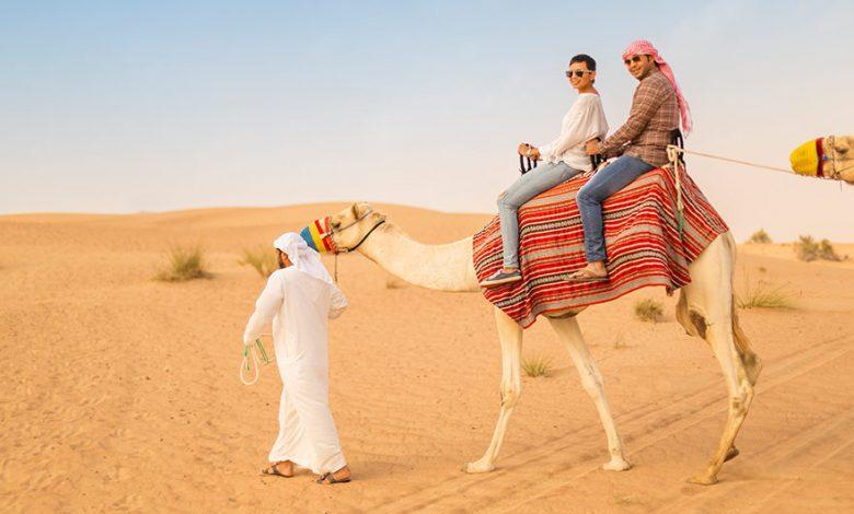 Camel Trekking Dubai