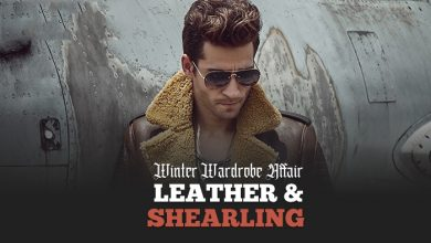 Photo of A Winter Wardrobe Affair: Leather And Shearling Are Here!