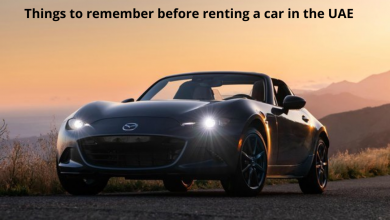 Photo of Things to remember before renting a car in the UAE