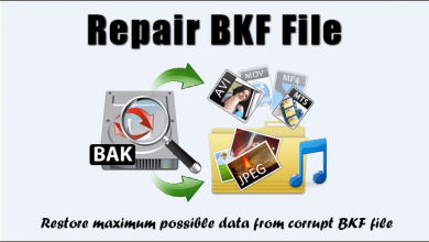 Photo of How to Restore Backup (.BKF) files ?