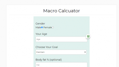 Photo of The Best Site To Help You Count Macros Calculator online