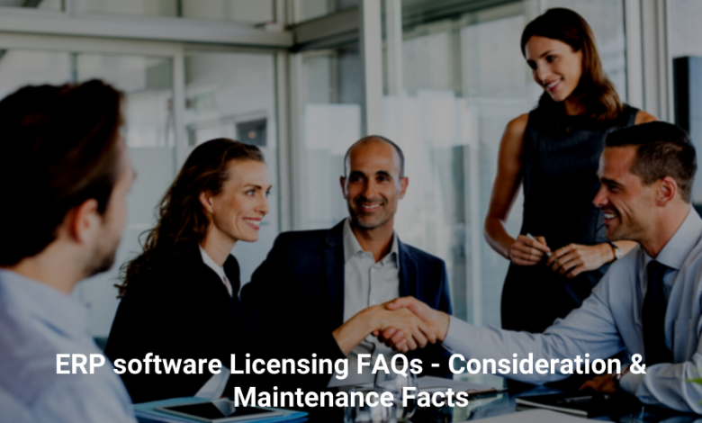 ERP software licensing FAQs
