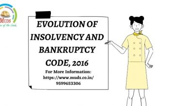 Photo of EVOLUTION OF INSOLVENCY AND BANKRUPTCY CODE, 2016