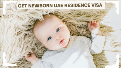 Photo of How can your newborn get a UAE residence visa?