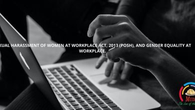 Photo of SEXUAL HARASSMENT OF WOMEN AT WORKPLACE ACT, 2013 (POSH), AND GENDER EQUALITY AT WORKPLACE
