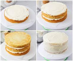 Homemade Vanilla Cakes