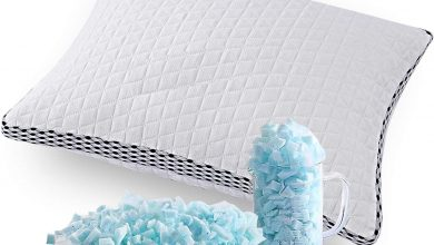 Photo of Best (less-expensive) shredded-memory-foam cooling pillow