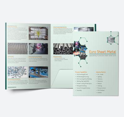 A5 Presentation Folder