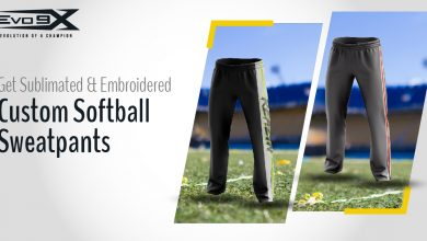 Photo of Get Sublimated & Embroidered Custom Softball Sweatpants