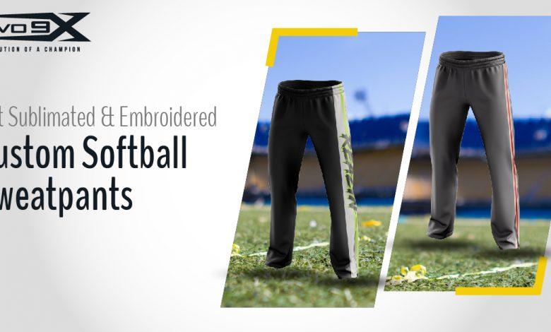Get-Sublimated-&-Embroidered-Custom-Softball-Sweatpants