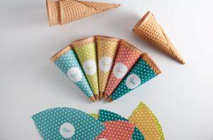 Ice Cream Cone Sleeve