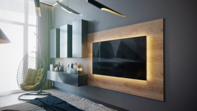 Photo of 50 wall decor ideas to hang on your Big Screen TV