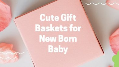 Photo of Cute Gift Baskets for New Born Baby