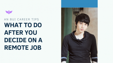 Photo of An Bui Career Tips: What to Do After You Decide on a remote Job