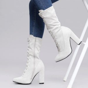 beige_lace_up_boots_suede_chunky_heels_ankle_boots_by_fsj