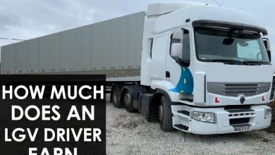 Photo of How much does an LGV driver earn?