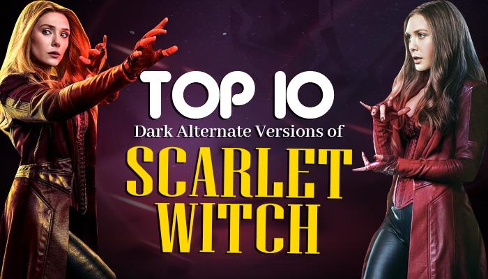 Dark Alternate Versions of Scarlet Witch
