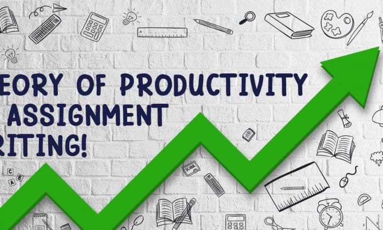 Theory of Productivity in Assignment Writing