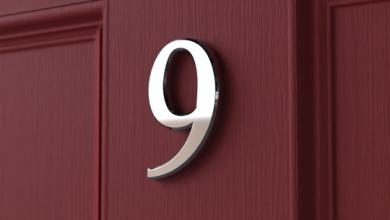 Photo of Front Door Numbers Benefits