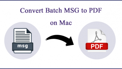 Photo of Method to Convert Batch MSG to PDF Files on Mac OS