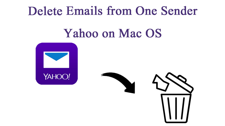 Delete emails from one sender on Yahoo