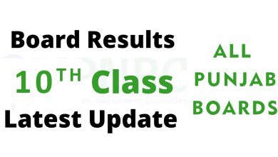 Photo of Matric Class Result 2021 For All Pakistan Board – 10th class Result