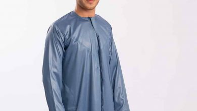 Photo of The Feiruzzi Omani Dishdasha is just the thing to add some colour in your wardrobe!