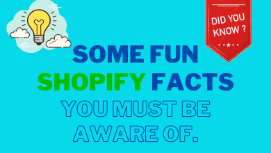 Photo of Some Fun Shopify Facts You Must be Aware Of